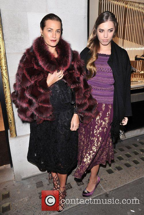 Amber Le Bon and Yasmin Le Bon 2