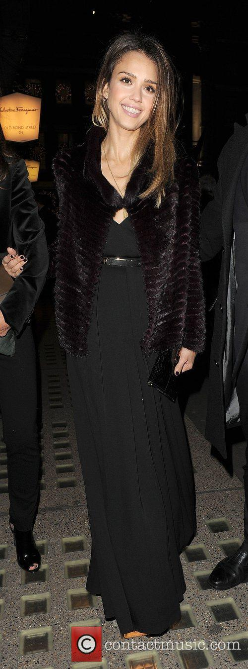 Jessica Alba and Salvator Ferragamo 1