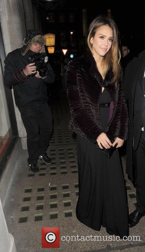 Jessica Alba and Salvator Ferragamo 8
