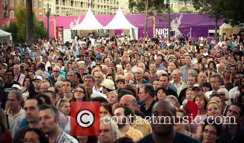 At the Festival de Nice 2012