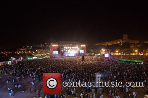 Festival Optimus Alive at Passeio Maritimo de Alges...