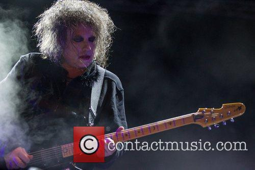 Robert Smith and The Cure 12