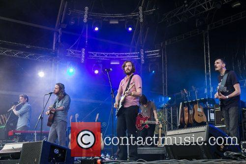 Midlake performing live at Festival Paredes de Coura...