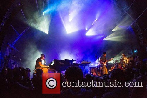 Patrick Watson performing live at Festival Paredes de...