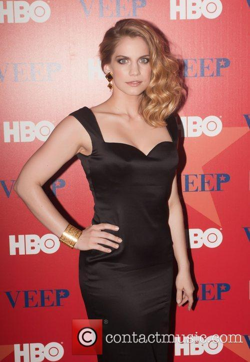 Attending a screening of New HBO series 'Veep'...