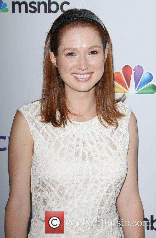 *file photo* * KEMPER ENGAGED Actress ELLIE KEMPER...