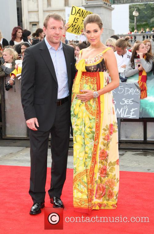 File Photo Guy Ritchie is a father again...