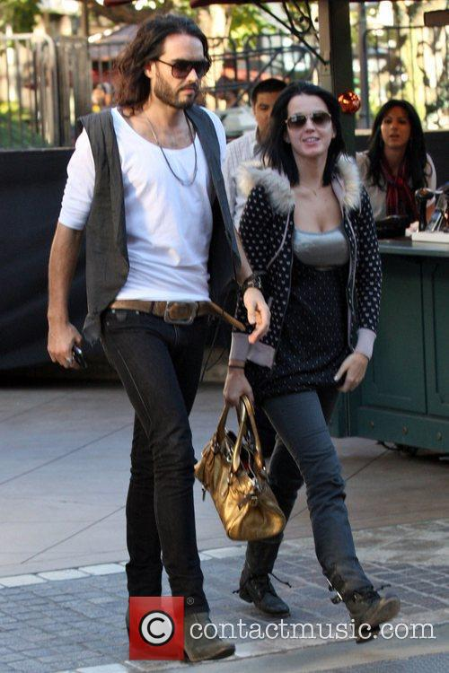 * BRAND FILES FOR DIVORCE RUSSELL BRAND has...