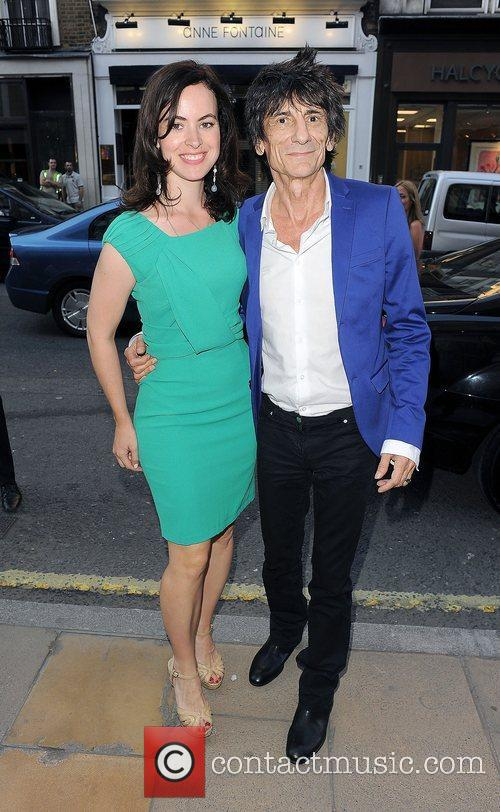 File Photos** * RONNIE WOOD ENGAGED - REPORT...