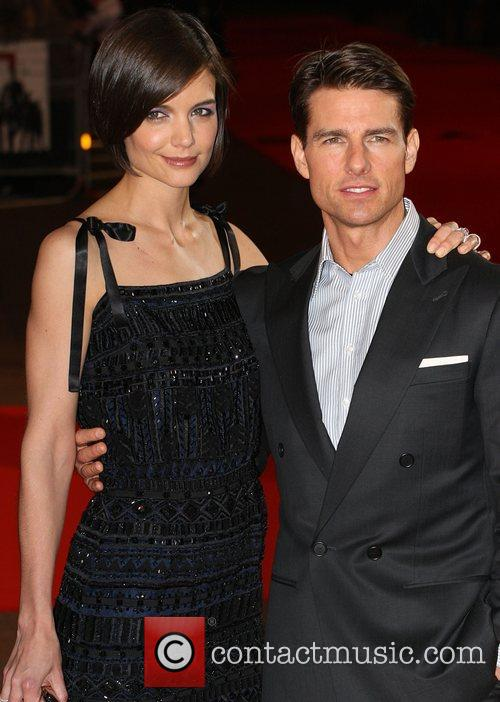 *file photo* * TOM CRUISE AND KATIE HOLMES...