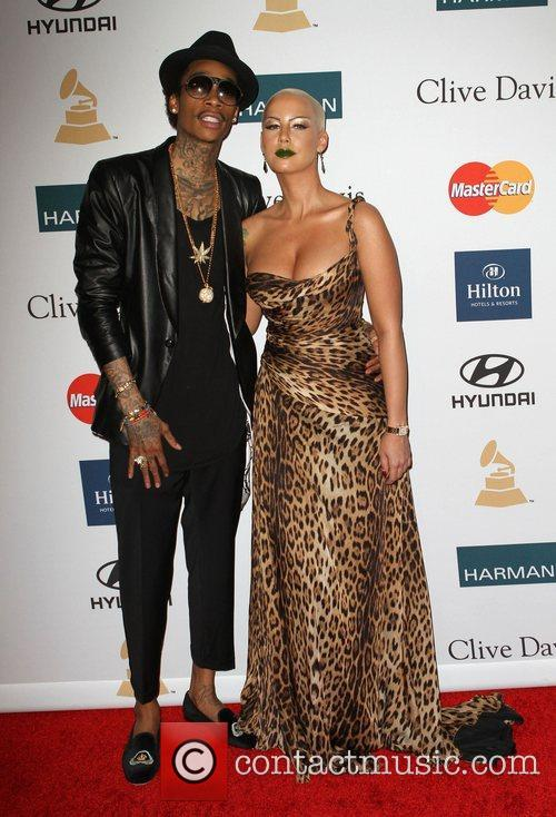 *file photo* Rapper Wiz Khalifa and Amber Rose...