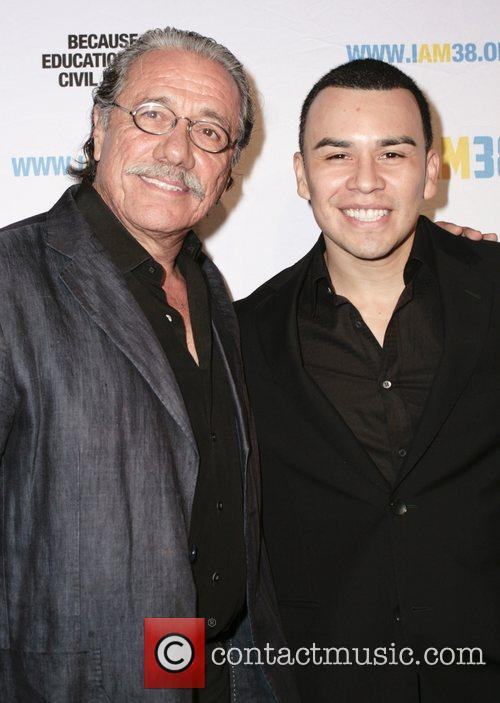 Edward James Olmos and Joseph Julian Soria