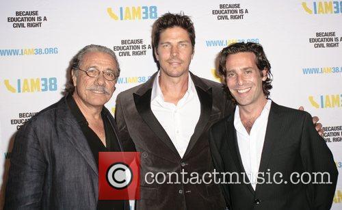 Edward James Olmos, Michael Trucco and James Coflis 1