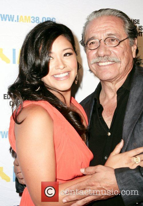 Gina Rodriguez and Edward James Olmos 1