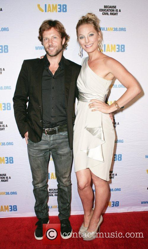 Jamie Bamber and Anastasia Griffith
