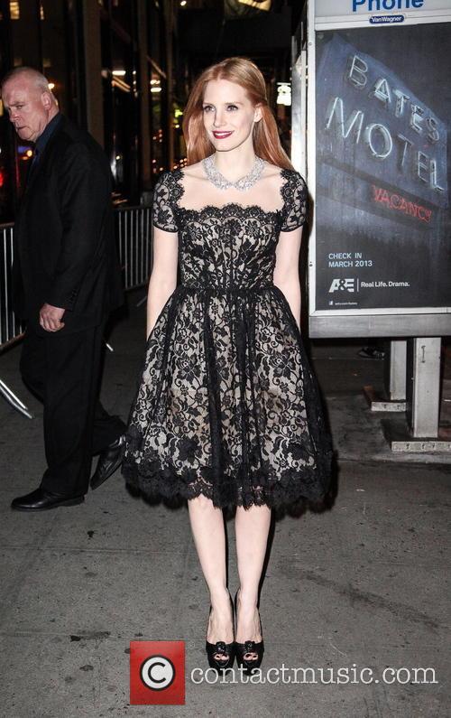 Jessica Chastain 2012 New York Film Critics Circle...