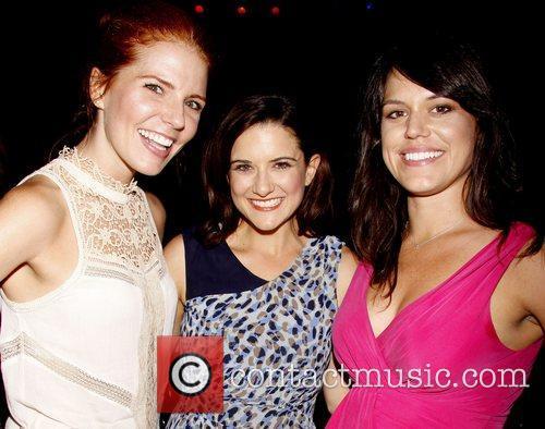Amy Halldin, Ashley Moniz and Laura D'Andre...