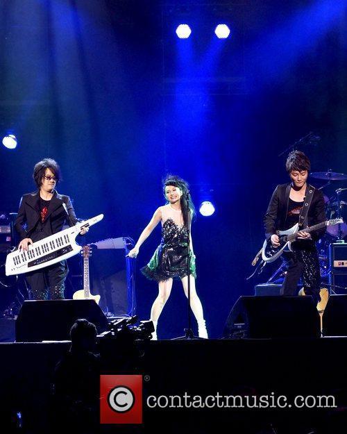 Ian Chen, Faye Chan and Real Huang...