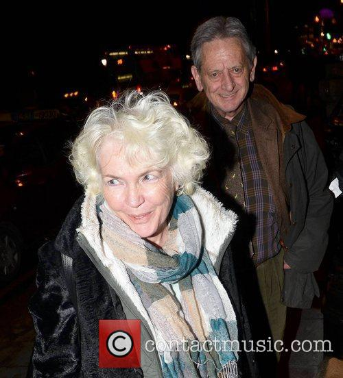 Fionnula Flanagan  spotted with her husband Dr....