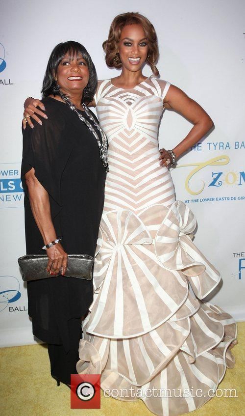 Carolyn Banks, Tyra Banks,  at The Flawsome...