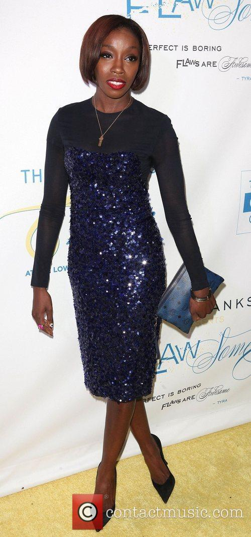At The Flawsome Ball For The Tyra Banks...