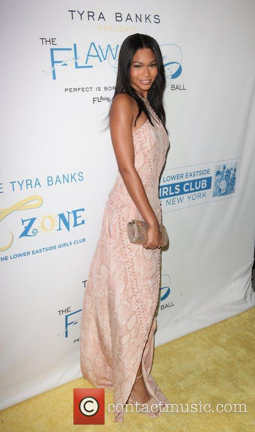Chanel Iman at The Flawsome Ball For The...