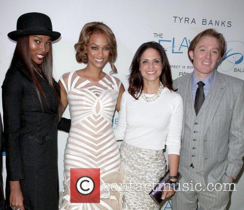 Damarias Lewis, Tyra Banks, Soledad O'brien and Clay Aiken 2