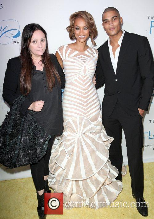 Kelly Cutrone, Tyra Banks and Rob Evans 4