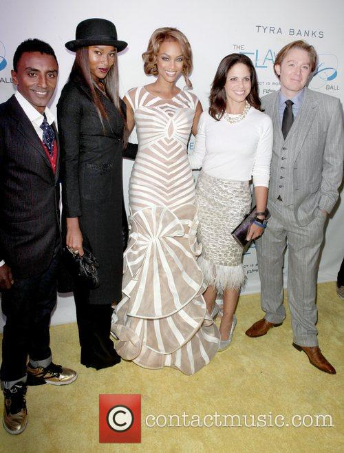 Marcus Samuelson, Damarias Lewis, Tyra Banks, Soledad O'brien and Clay Aiken 2