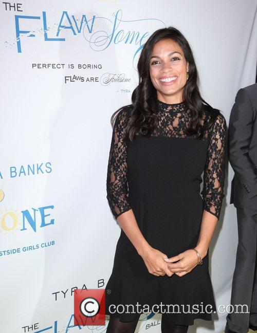 Rosario Dawson at The Flawsome Ball For The...