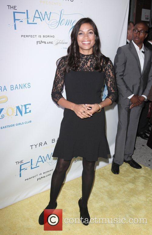rosario dawson at the flawsome ball for 4133969