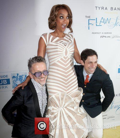 Simon Doonan, Tyra Banks and Jonathan Adler 2