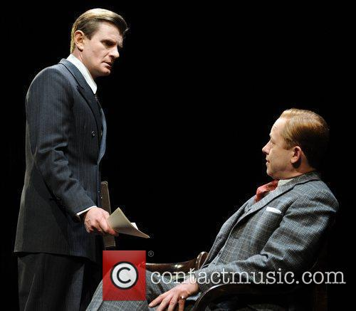 Cast The King's Speech photocall at Wyndham's Theatre...