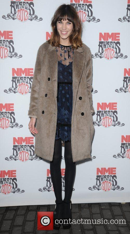 Alexa Chung at NME Awards at Brixton Academy,...