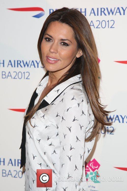 Danielle Lineker Flight BA2012 - Launch party -...