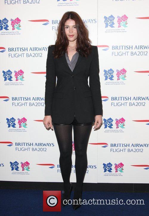Gemma Arterton Flight BA2012 - Launch party -...