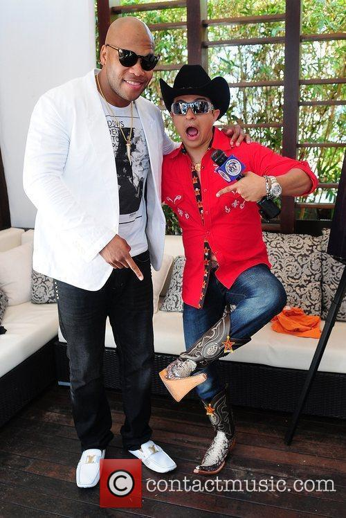 Flo Rida and Guest Flo Rida attends a...