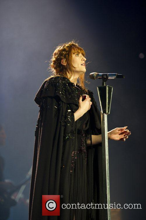 Florence Welch performs in London