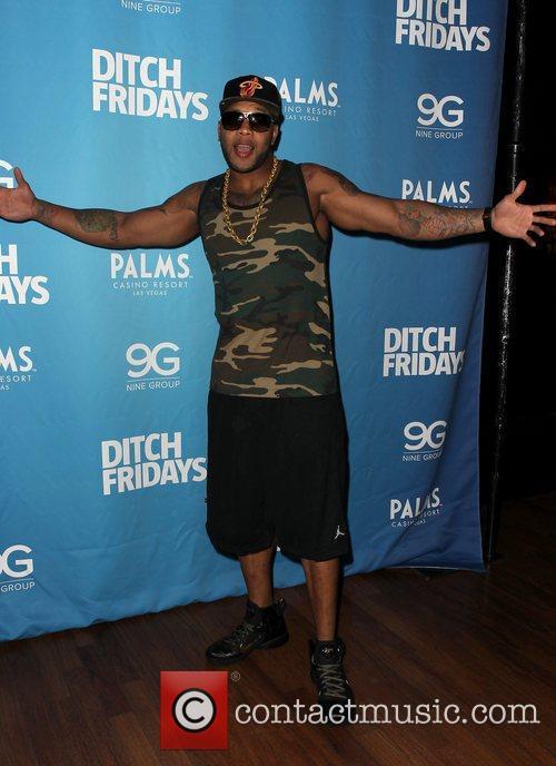 Flo Rida performs at 'Ditch Fridays' held at...