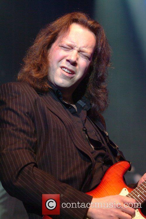 Jim Kirkpatrick of FM performing live at the...