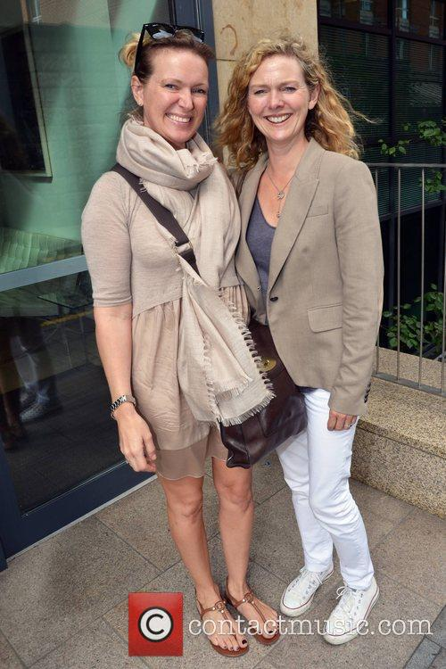 Celebrity chef Rachel Allen and sister Simone at...