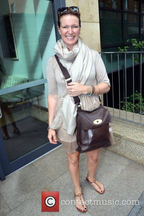 Celebrity chef Rachel Allen at Today FM studios,...