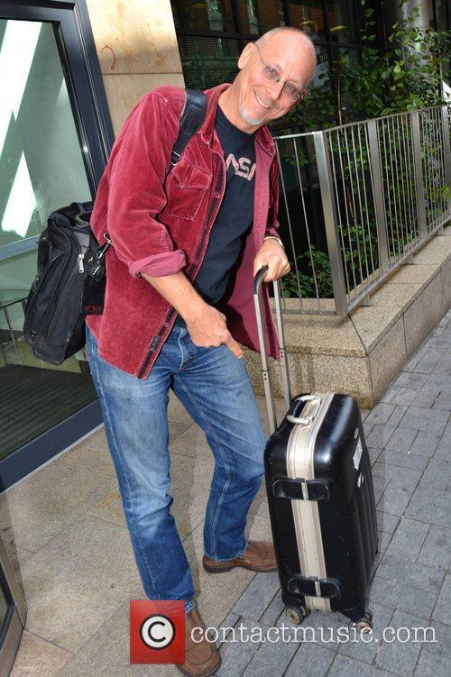 US ventriloquist David Strassman seen leaving Today FM...