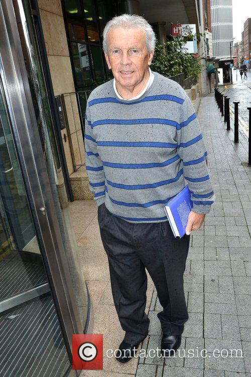 Soccer pundit Johnny Giles at Today FM, Dublin,...