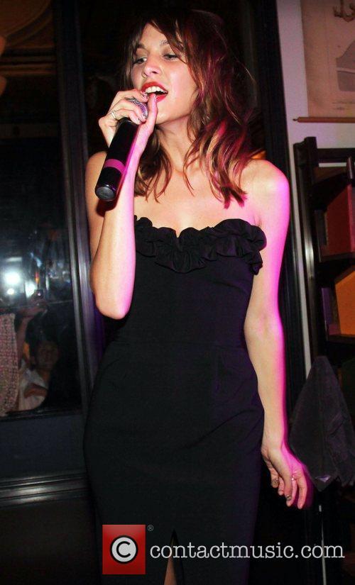 Alexa Chung Fashion's Night Out 2012 – Opening...