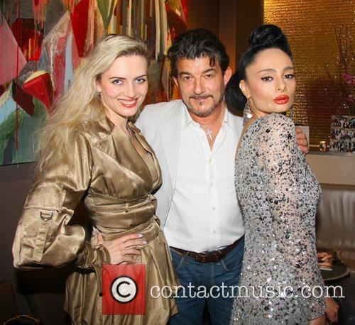 Lana Holloway, John Altman and Sophia Nooshin Food...