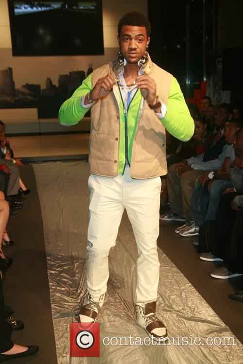 5th annual Fashion & Football runway show at...