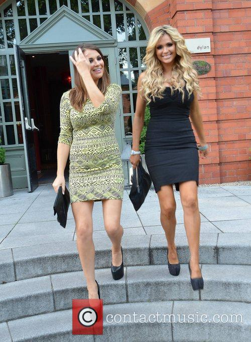 Nicola Mclean and Natasha Giggs 1
