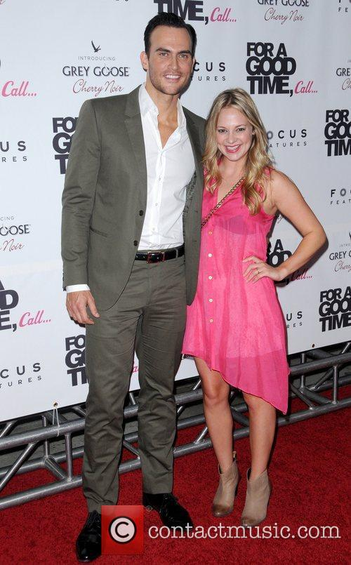 Cheyenne Jackson and Ari Graynor 1