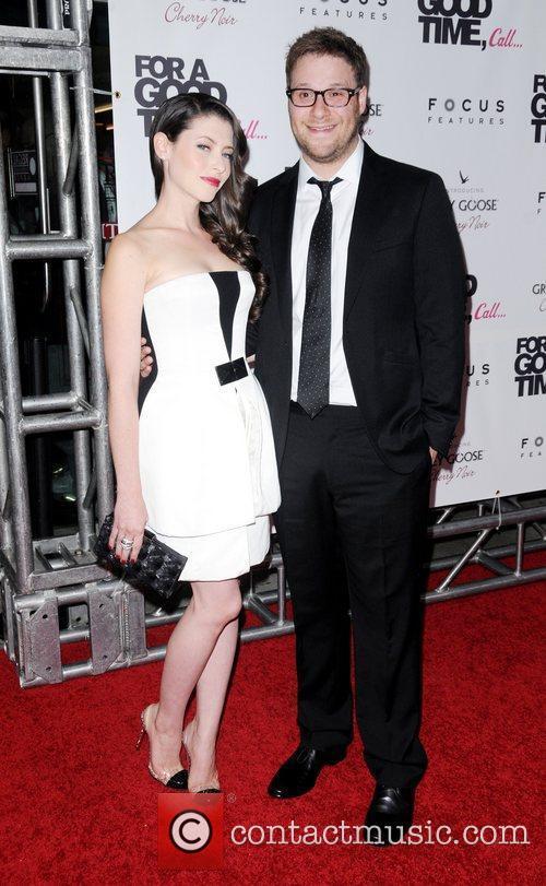 Lauren Miller and Seth Rogen 11